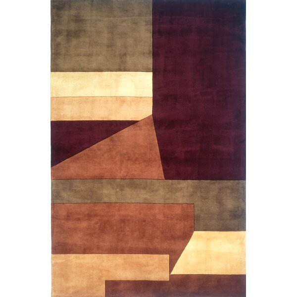 Eddie Wine Area Rug by Latitude Run