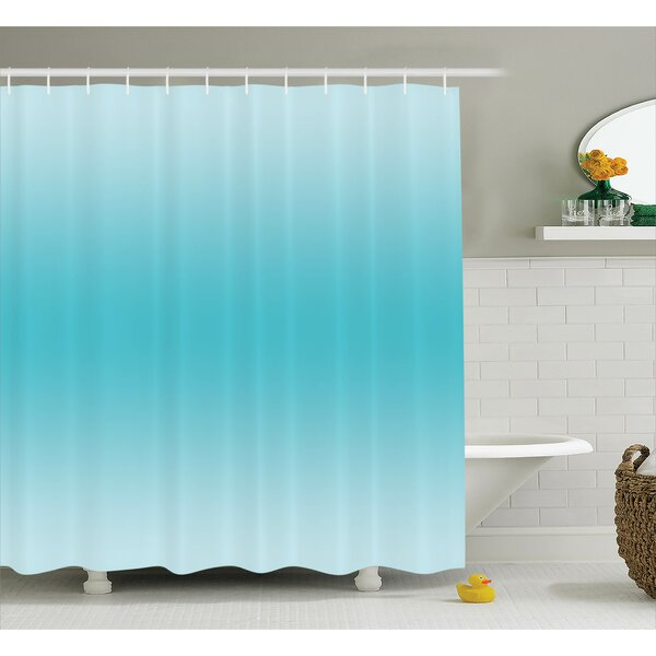 Fred Tropical Aquatic Print Shower Curtain by Harriet Bee