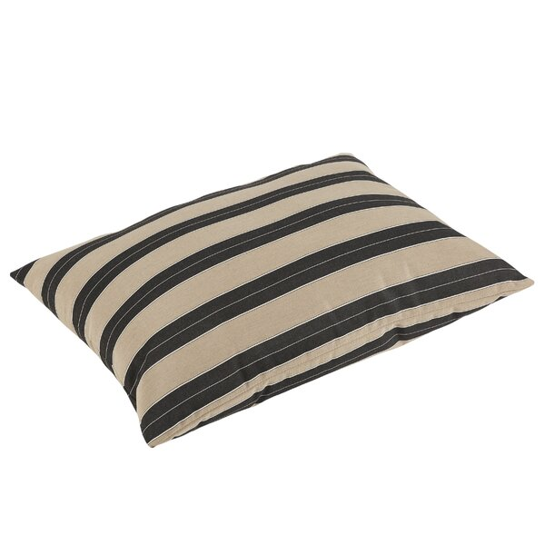 Edmon Sunbrella Berenson Tuxedo Indoor/Outdoor Floor Pillow by Darby Home Co
