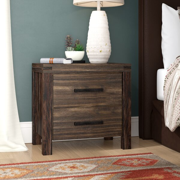 Blackburn 2 Drawer Nightstand by Loon Peak
