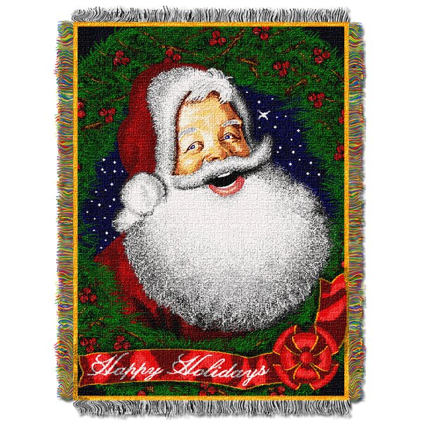 Howdy Santa Throw by Northwest Co.