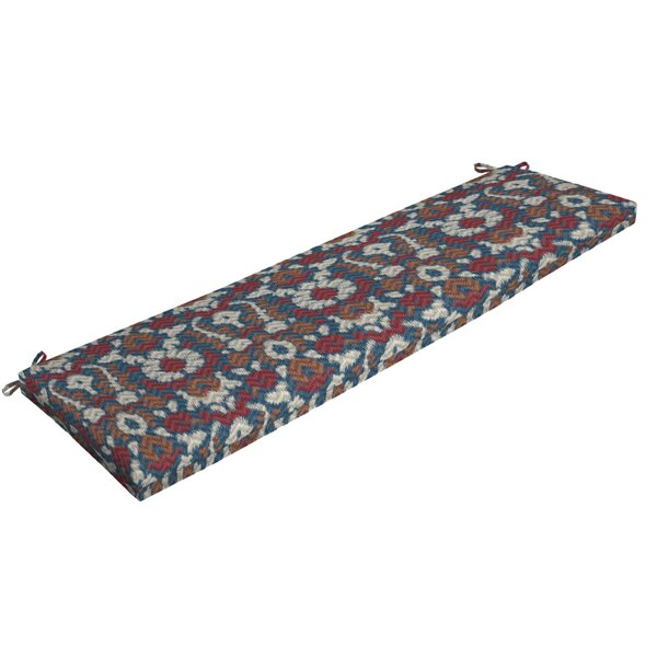Ikat Outdoor Bench Cushion By Ebern Designs