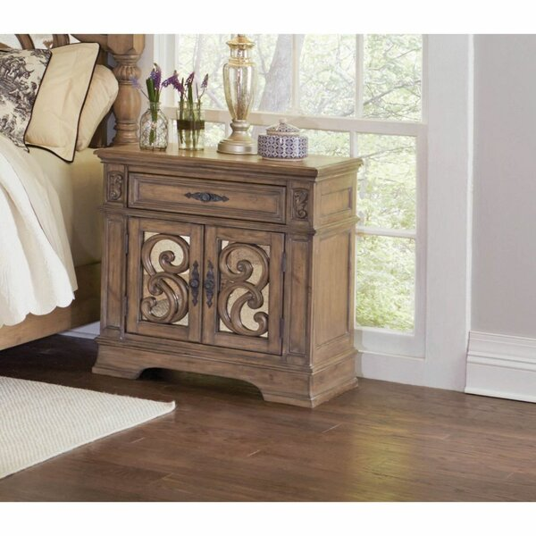 Charla 1 Drawer Nightstand by Gracie Oaks
