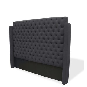 Franck Upholstered Wingback Headboard by South Cone Home