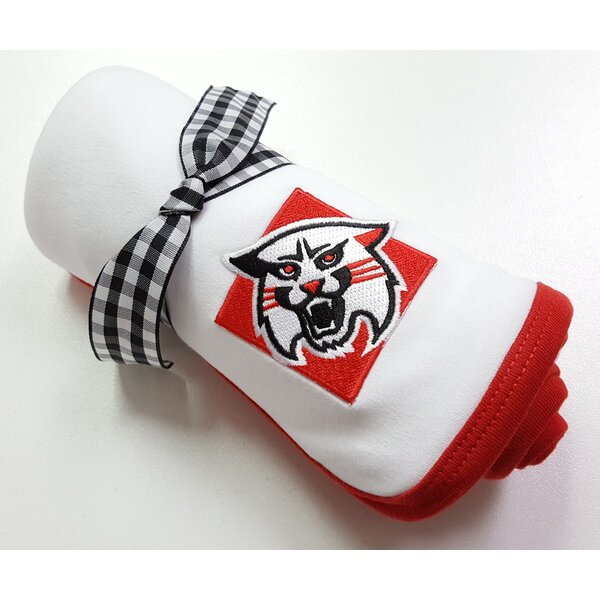 Davidson Wildcats Baby Receiving Blanket by Future Tailgater