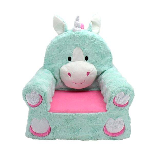 Ondine Sweet Seat Fantasy Unicorn Chair by Zoomie Kids