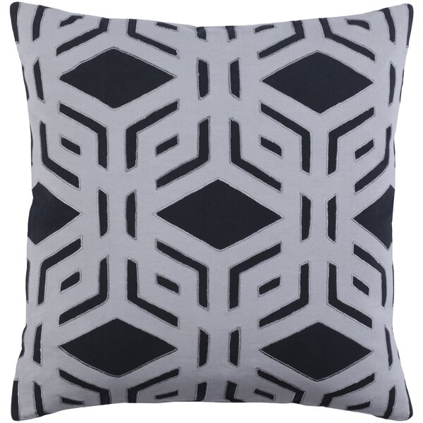 Rowan Cotton Throw Pillow by Red Barrel Studio