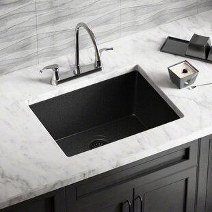 Black Undermount Kitchen Sink | Black Kitchen Sinks You Ll Love Wayfair