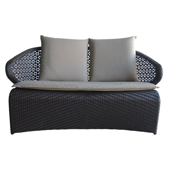 Exotica Loveseat with Cushions by 100 Essentials