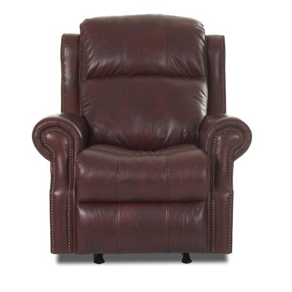 Defiance Recliner with Foam Seat Cushion Red Barrel Studio W002208610