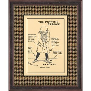 Stance Plaid Framed Graphic Art by Melissa Van Hise
