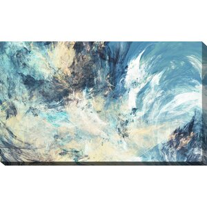 'Feeling Blue' Painting Print on Wrapped Canvas by Picture Perfect International