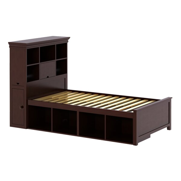 Cowan Twin Loft Bed with Storage by Harriet Bee