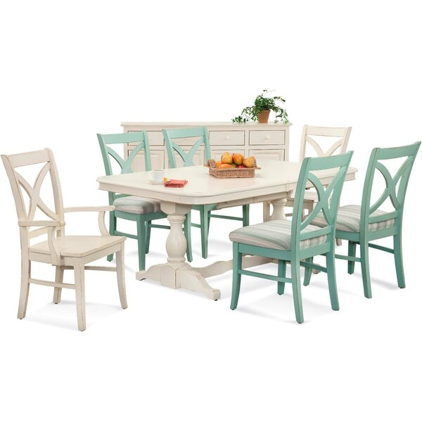 Hues Solid Wood Dining Armchair by Braxton Culler