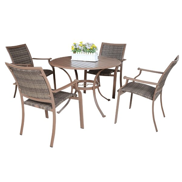 Island Cove 5 Piece Outdoor Dining Set by Panama Jack Outdoor