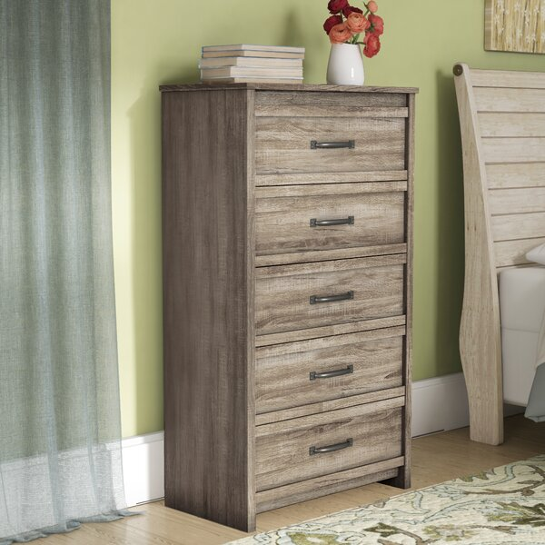 Donovan 5 Drawer Dresser by Gracie Oaks