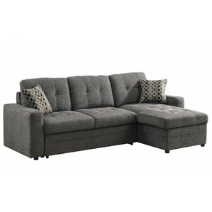 Sleeper Sectional  sc 1 st  Wayfair : sectional sofa with chaise and sleeper - Sectionals, Sofas & Couches