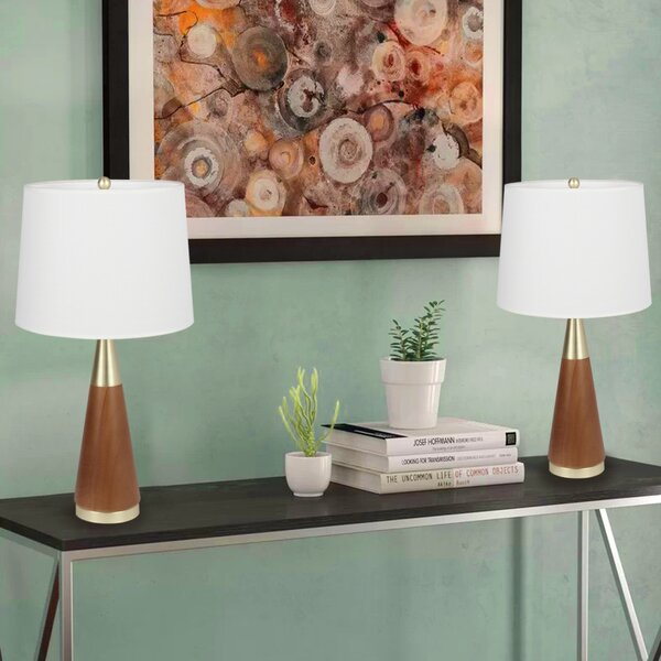 Garlington 26 Table Lamp (Set of 2) by Mercer41