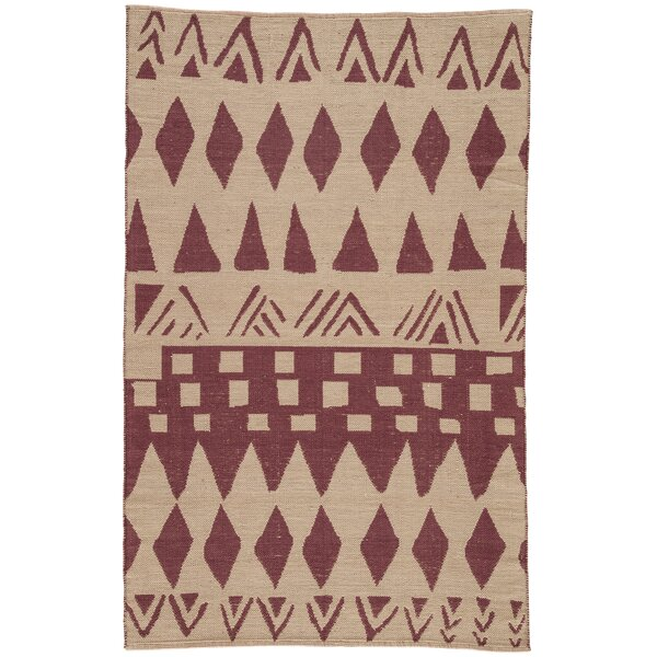 Jaimey Huckleberry/Abbey Stone Area Rug by Bloomsbury Market