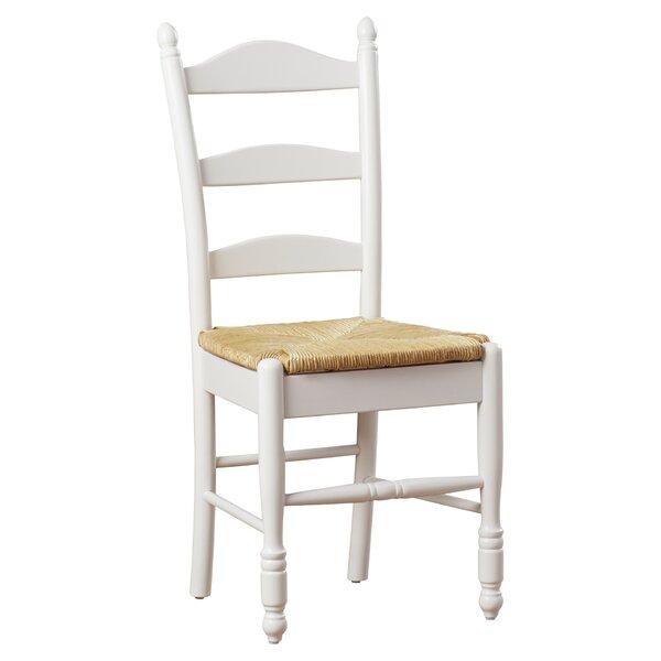 Nice Lark Manor Gennevilliers Ladder Back Solid Wood Dining Chair U0026 Reviews |  Wayfair