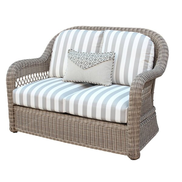 Britt Loveseat with Cushion by Ophelia & Co.