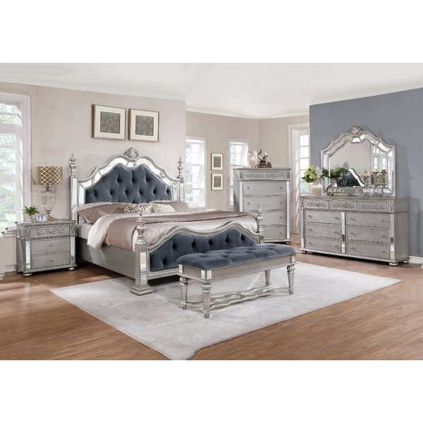 Kenton Standard 5 Piece Bedroom Set By Rosdorf Park by Rosdorf Park 2020 Sale