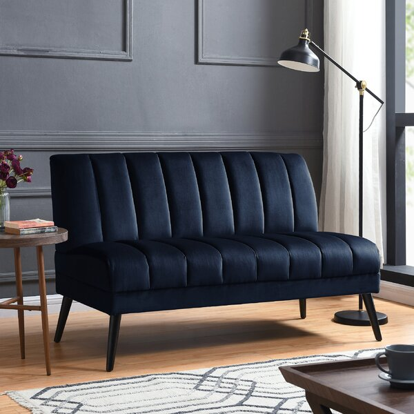 New Chic Martindale Standard Loveseat by Mercury Row by Mercury Row