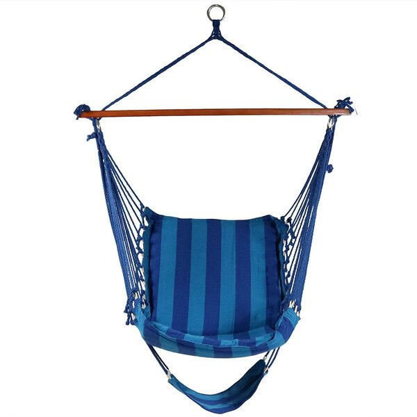 Lila Hanging Padded Soft Cushioned Chair Hammock by Freeport Park Freeport Park