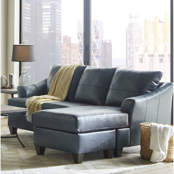 Stitt Soft Touch Sofa Chaise Sectional by Ivy Bronx
