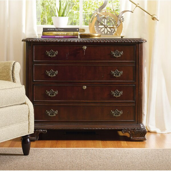 Bedford Row 2-Drawer  File by Hooker Furniture