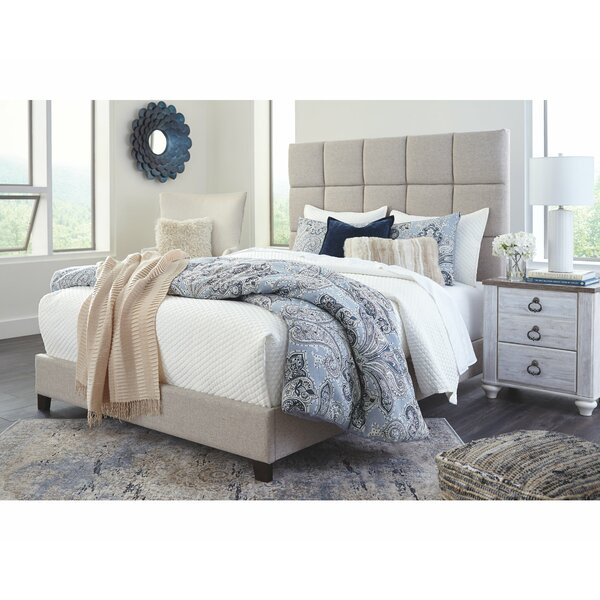 Gomes Queen Upholstered Standard Bed by Ebern Designs