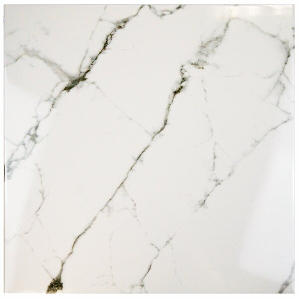 Classique 18 x 18 Ceramic Field Tile in White by EliteTile
