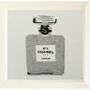 'Chanel No. 5 Paris Perfume' Framed Painting Print by Buy Art For Less