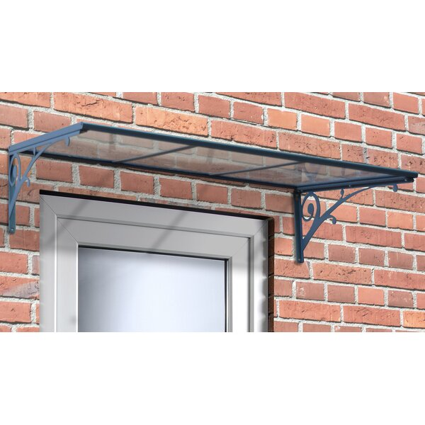 Aries 1350 4.5 ft. W x 3 ft. D Door Awning by Palram