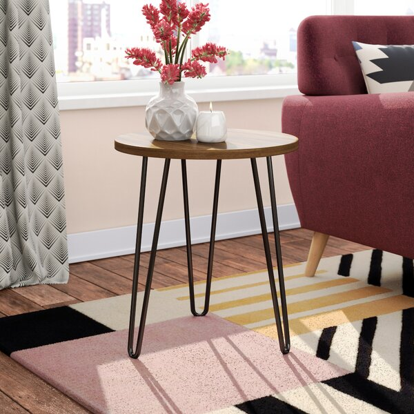 Forest Park Retro End Table by Zipcode Design