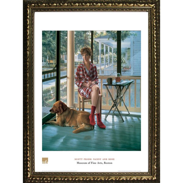 Nanny and Rose by Scott Prior Framed Painting Print by Buy Art For Less
