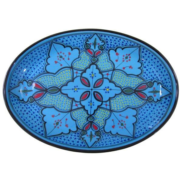 Sabrine Stoneware Poultry Platter by Le Souk Ceramique