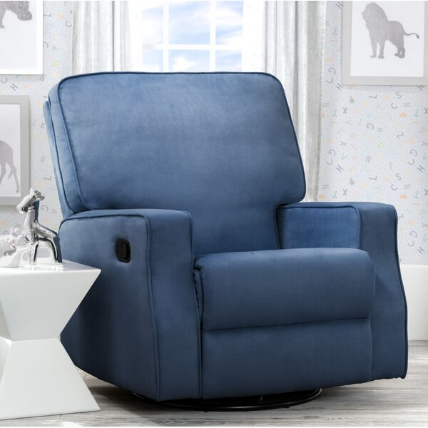 Caleb Swivel Reclining Glider by Delta Children