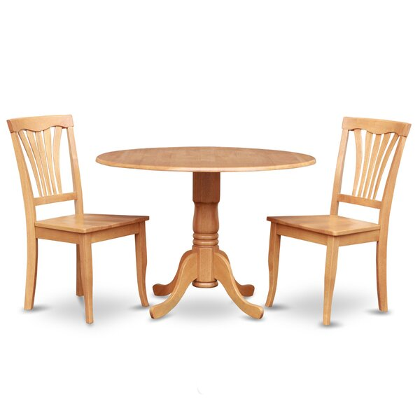 Dublin 3 Piece Dining Set By Wooden Importers Coupon