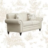 Axelle 67 Rolled Arm Loveseat by Lark Manor