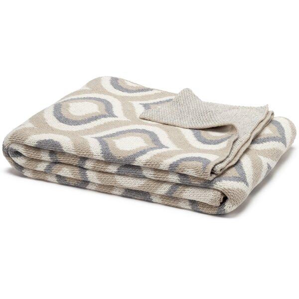 Kyros Handloom Royal Cotton Throw by Brayden Studio