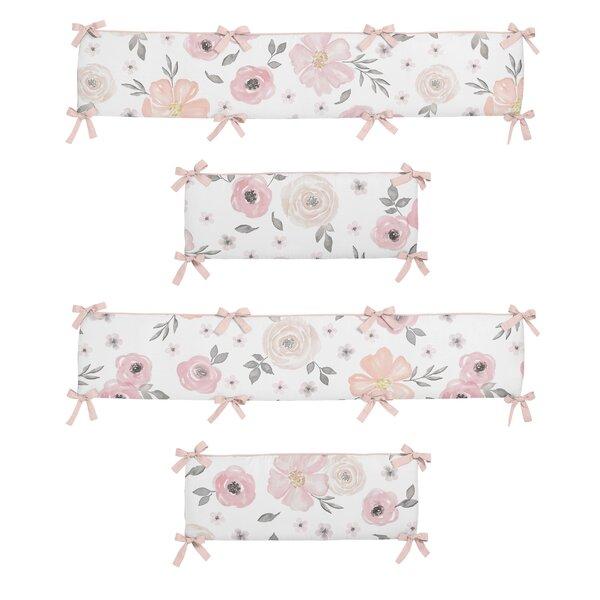 Floral Crib Bumper by Sweet Jojo Designs
