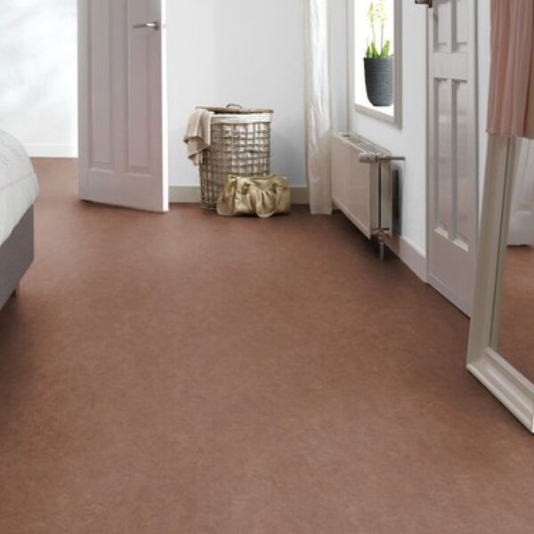 Marmoleum Click Cinch Loc 11.81 x 35.43 x 9.9mm Cork Laminate Flooring in Brown by Forbo