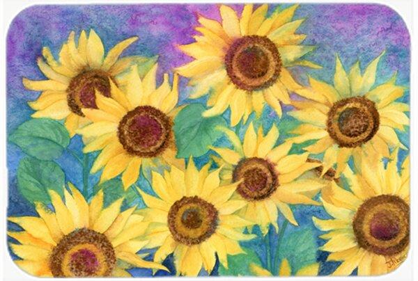 Landon Sunflowers Bath Rug