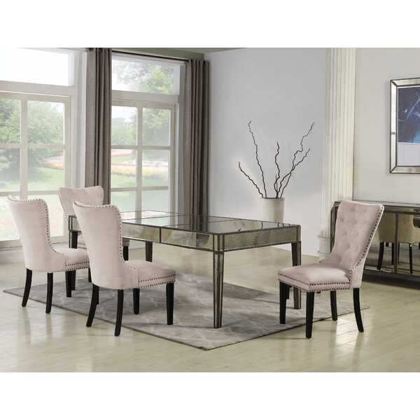 Sariah 5 Pieces Solid Wood Dining Set by Rosdorf Park Rosdorf Park