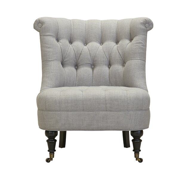 Nannette Slipper Chair by Canora Grey