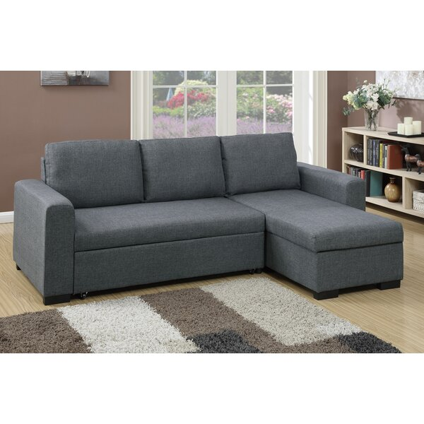 Gravette Sleeper Sectional by Three Posts