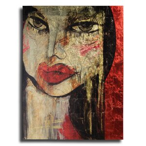 'Portrait 1' Graphic Art on Canvas by Empire Art Direct