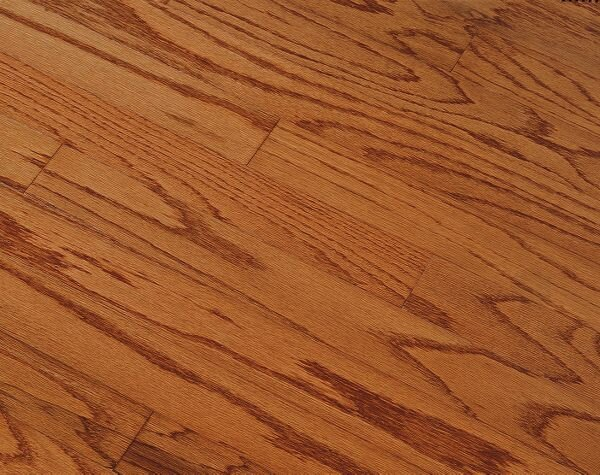 Springdale 3 Engineered Oak Hardwood Flooring in Gunstock by Bruce Flooring