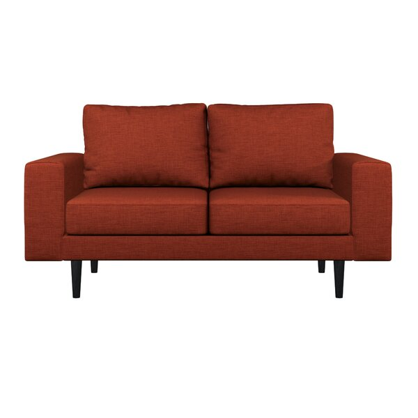 Buy Online Discount Binns Oxford Weave Loveseat by Corrigan Studio by Corrigan Studio